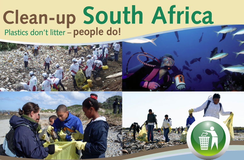 Tuffy helps with Clean-Up South Africa Week 2011
