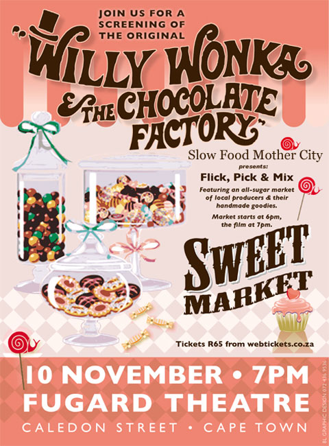 Slow Food Artisan Sweet Market feat. Willy Wonka
