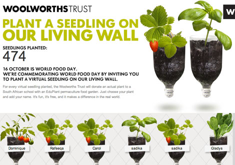 Plant a Virtual Seedling for World Food Day