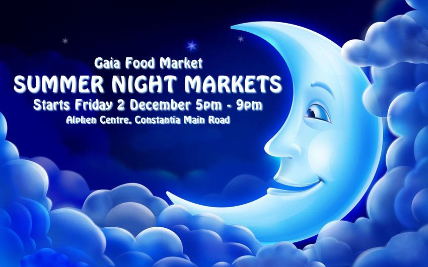 Gaia Food Market launches Summer Night Markets