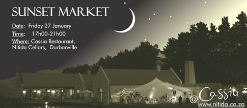 Nitida Sunset Market