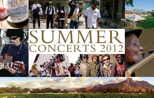 Solms-Delta Summer Concerts 2012