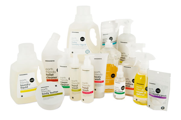 Woolworths 'Earth Friendly' range relaunches